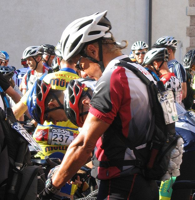 Preparing for the Next Stage in the Adidas TransAlp Challenge by Governor Gary Johnson, via Flickr