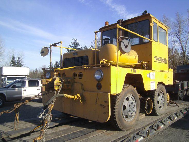 7TM Trackmobile S/N 7130 Cummins Diesel Disc Brakes Train
