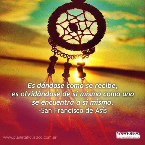 Frases de San Francisco de Asís. Pensamientos y Reflexiones.