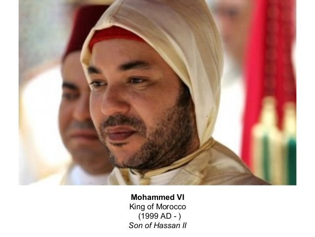 Mohammed VI King of Morocco (1999 to Present)