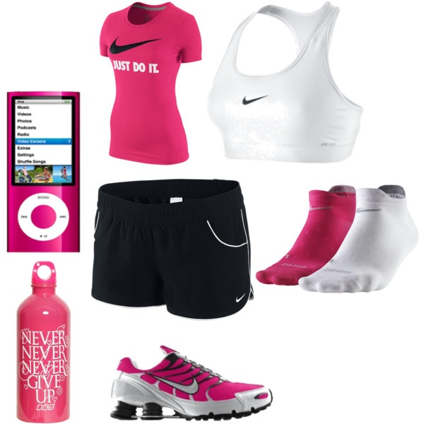 nike gear nutting but the best by charasroberds on Polyvore  so matchy matchy