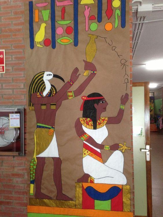 Resultado de imagen de DECORACION COLEGIO EGIPTO