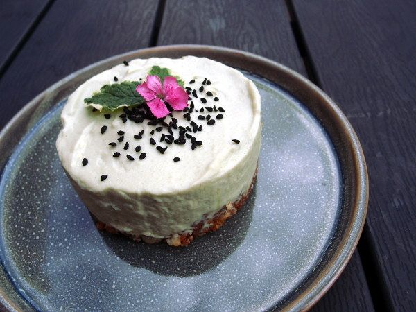 Matcha Green Tea Cheesecake, ostekage, japansk dessert, asiatisk, kage…