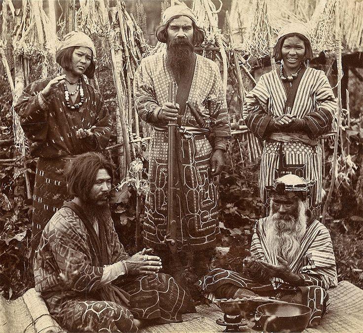 Ainu People of Japan, ca. 1900