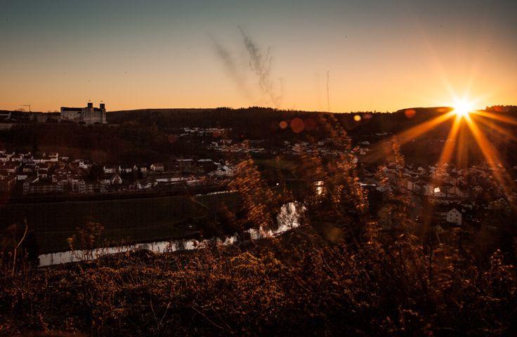 Sonnenuntergang bei Eichstätt