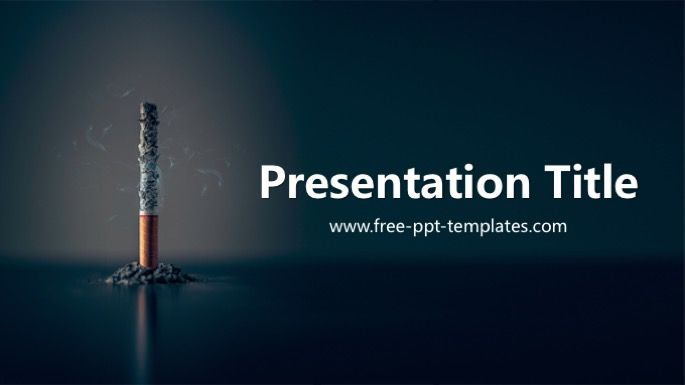 Smoking PowerPoint Template Medical PowerPoint Templates Free