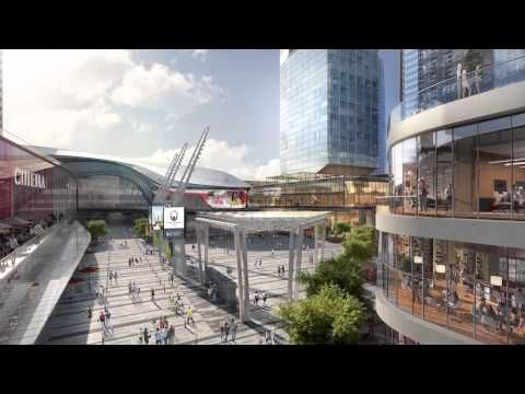 Edmonton Arena District Fly-Through Video #yegdt is changing!