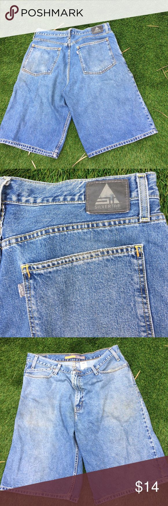 Men's Levi's silver tag low & loose size 36 worn | Shorts, Levis ...