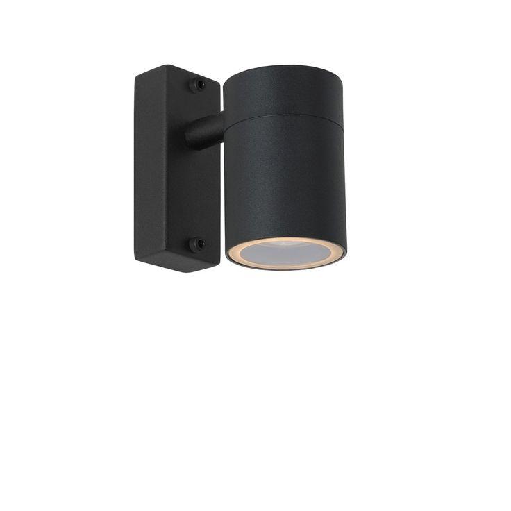Verlicht de oprit stijlvol met de Arne wandlamp van Lucide.