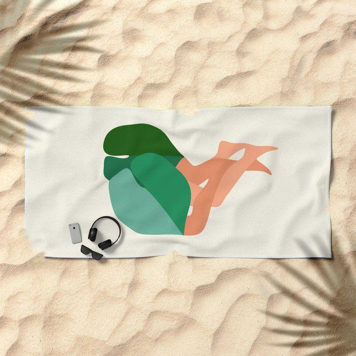 Towel&spoon Beach Towel by BandaMinta   Society6