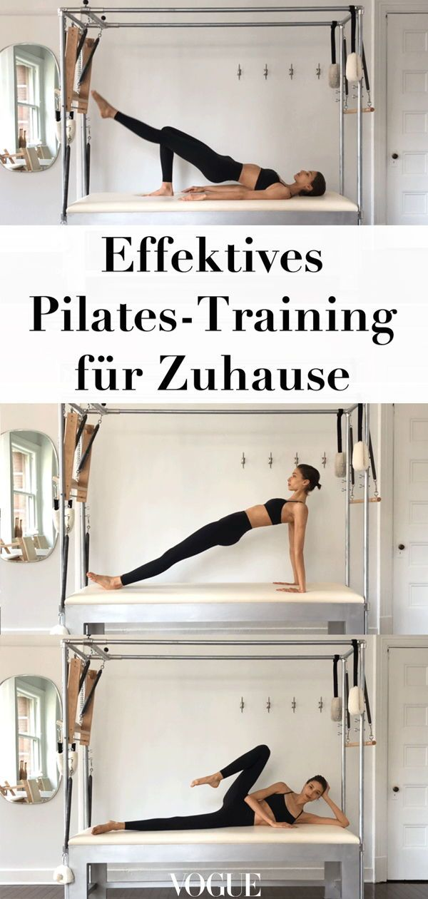 7 Pilates exercises that you can do at home