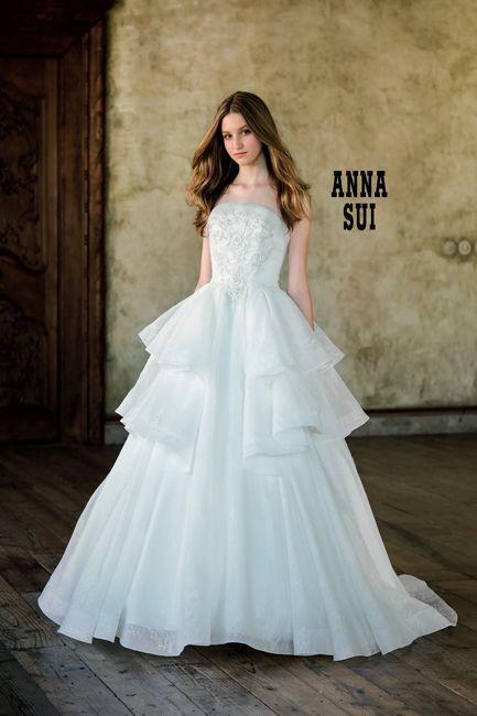 b876c2a1ee137 W7F-800|ANNA SUI|ブランド|オシャレでこだわり、個性的なウェディングドレス、カラードレス、タキシードレンタルならドレスショップブランシェ