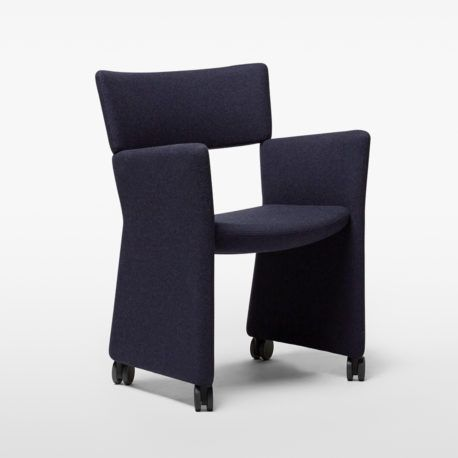 Crown Armchair - Castors