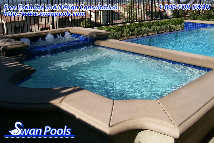 42 best swan pools aesthetics cantilever coping images on for Quality pool design