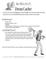 The BFG's D.I.Y. Dream Catcher http://www.teachervision.fen.com/childrens-art-activities/printable/52036.html #RoaldDahl #TheBFG