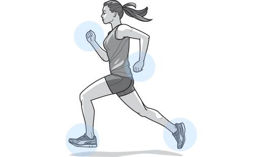 A more effective stride takes hard work and focus.