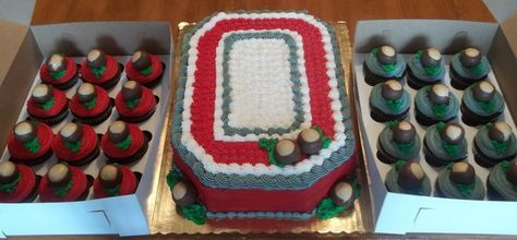 Ohio State Cake & Cupcakes on Cake Central
