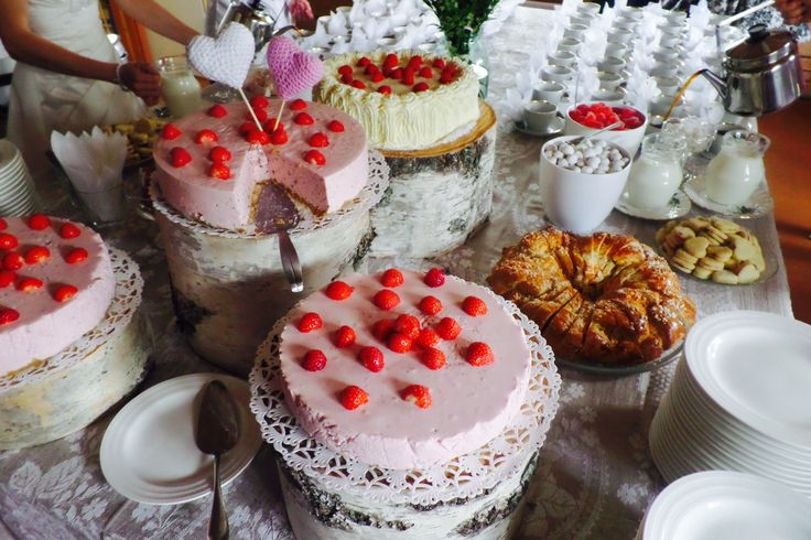 Another wedding and the dessert table
