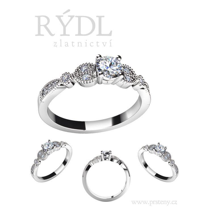 Našel jste tu pravou a získal si její srdce ❤️ & LÁSKU. Znásobte radost & požádejte o ruku na 🎄ŠTĚDRÝ DEN🎄. Darujte prsten 💍 na celý život.  Krásný jako její úsměv, zářivý jako její oči & jedinečný, jako je ona sama.   Zastavte se u nás, rádi Vám s výběrem toho pravého pomůžeme.  Jsme tu pro Vás, Team RÝDL  WWW.PRSTENY.CZ  Zásnubní prsten Model LOVE 071⏩⏩ http://www.prsteny.cz/zasnubni-prsten-model-love-071