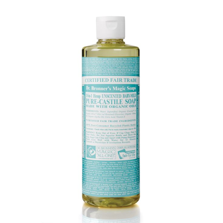 Dr Bronner's Organic Baby Cast Liquid Soap 472ml - Free Delivery - feelunique.com
