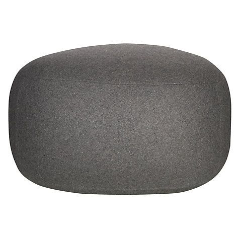 Buy House by John Lewis Pebble Pouffe, Steel Online at johnlewis.com