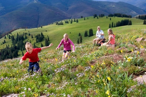 Vail Mountain in the summer time!!