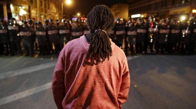 Baltimora : è caos