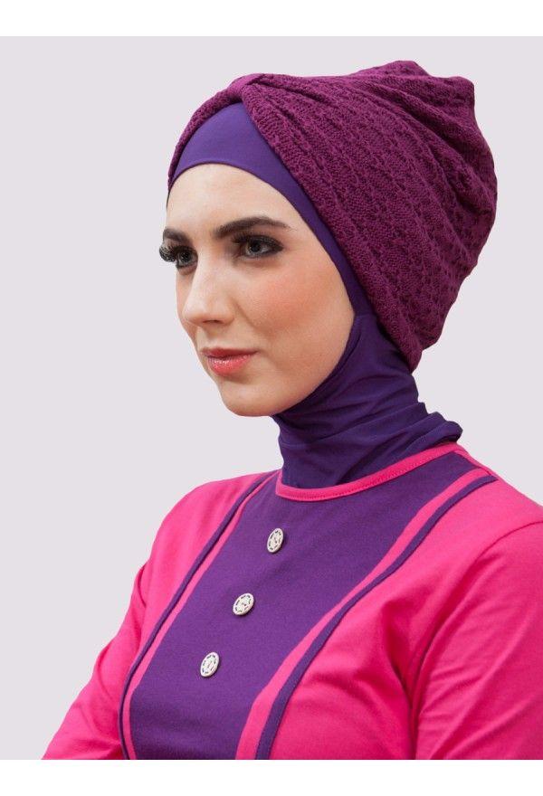 Turban Mayang Purple