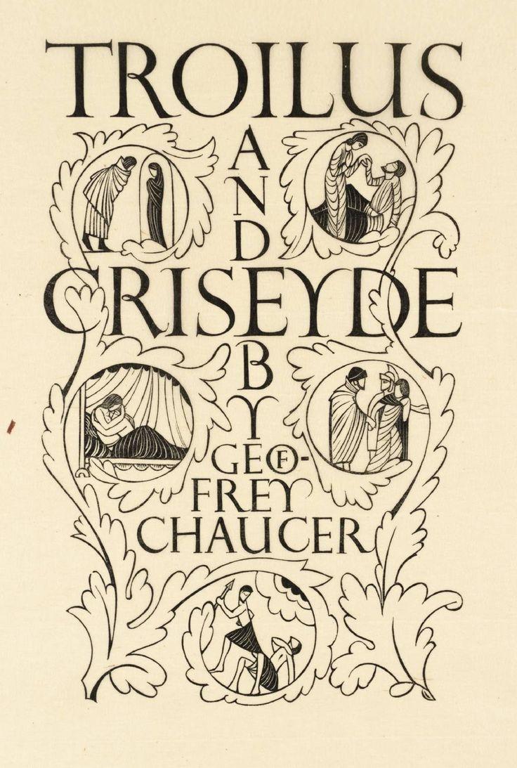 Geoffrey Chaucers Troilus And Criseyde British Literature Essay