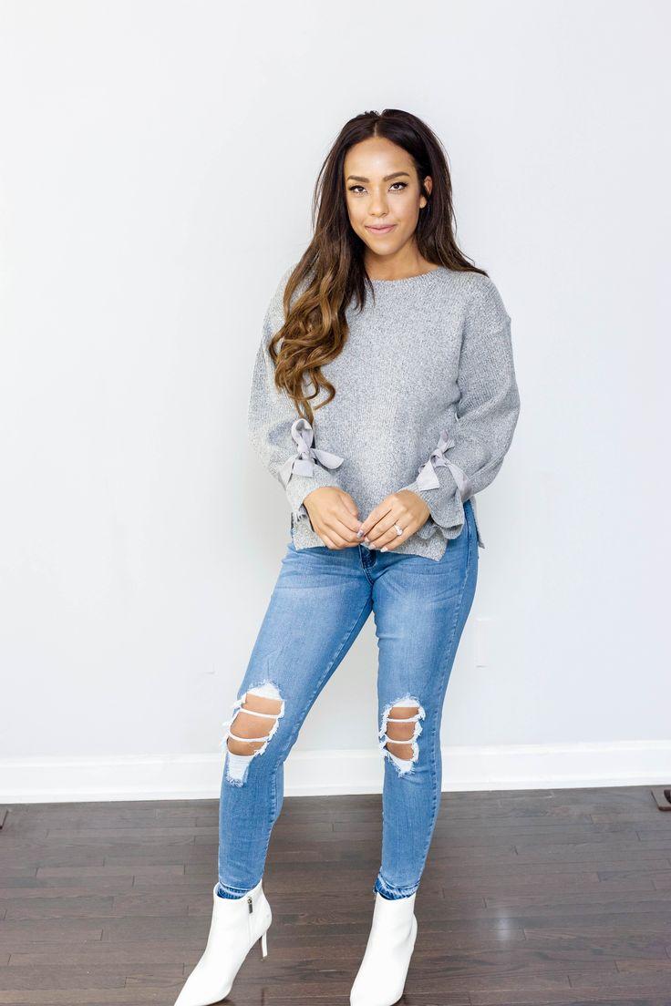 Tonia Bow Sweater