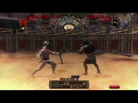 Gladiators Online - RAW Gameplay 2 - Gladiators Online [Death Before Dishonor] is a Free to play Combat management MMO blood sport Game that makes players the owner of a gladiator team in ancient Rome