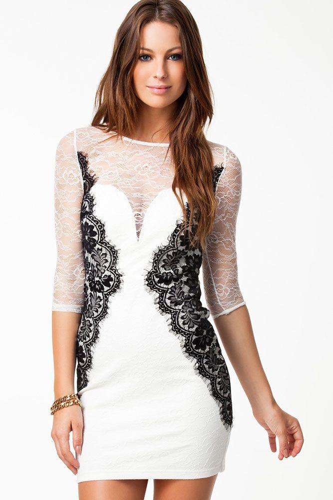 Hannah lacy long dress