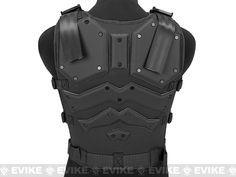 Matrix Cobra Warrior High Speed Body Armor - Black, Tac. Gear/Apparel, Body Armor & Vests, Black - Evike.com Airsoft Superstore