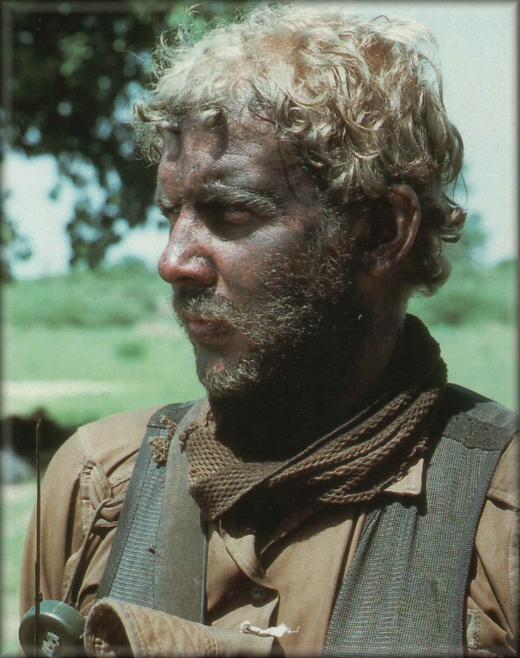 He's been there, done that and is ready for more. A South African soldier during the border / bush war in Namibia and Angola