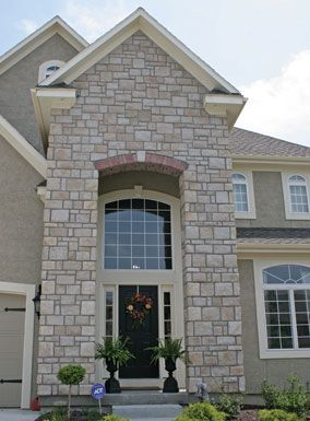 1000 ideas about faux stone veneer on pinterest stone - Exterior wall finishes for homes ...
