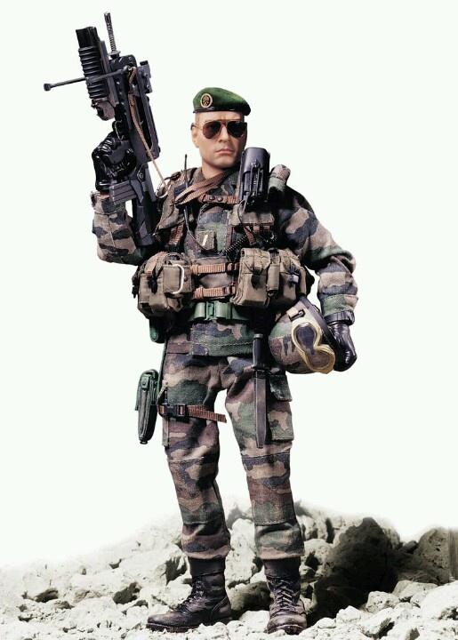 Model soldier