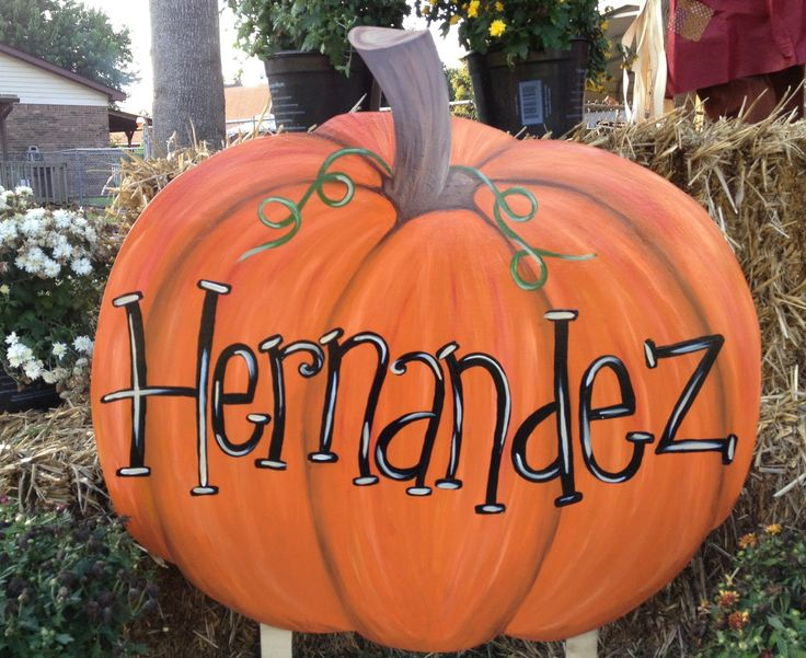 Pumpkin Yard Sign#wooden yard art stake ideas#fall