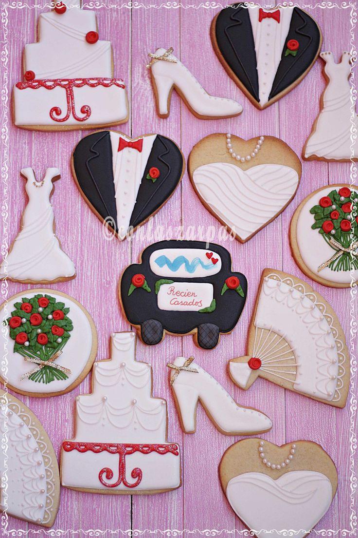 Galletas para una boda {by Paula, Galletilandia}