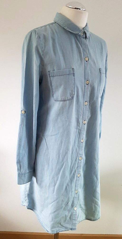 3e80f14ff29  DenimDress Vintage 90s Old Navy Chambray Blue Soft Denim Shirt Dress 10 12  M Tab Sleeve - Denim Dress  20.50 End Date  Tuesday Nov-27-2018 11 40 34  PST Buy ...