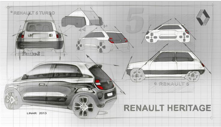 Relive the #design birth of #NewTwingo ! (c)  - Droits réservés #Renault
