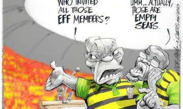 CARTOON: Zuma Sees Red