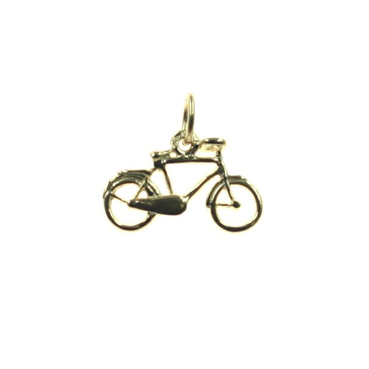 Buy our Australian made Bicycle Charm - chr-1629 online. Explore our range of custom made chain jewellery, rings, pendants, earrings and charms.
