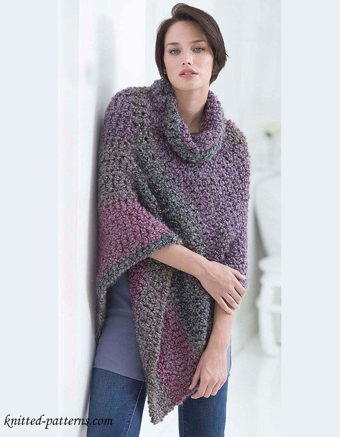 25+ best ideas about Crochet Poncho Patterns on Pinterest ...