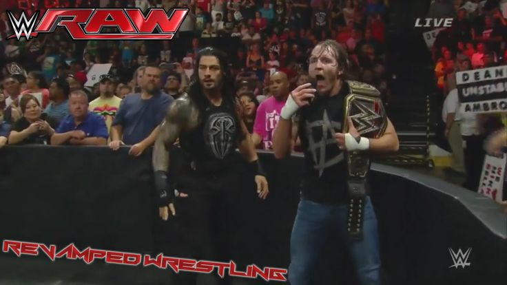 WWE RAW June 1 2015 - WWE RAW 6/1/15 Dean Ambrose & Seth Rollins Elimination Chamber Fallout! - NEWS