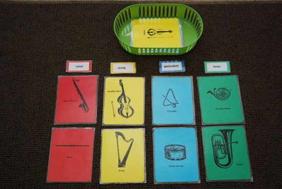 matching games... instruments, composers, note/rest value names.... how many ways can this be used?!