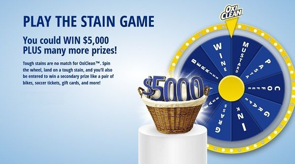 www staingame ca: Win $5,000, bikes, soccer tickets, gift
