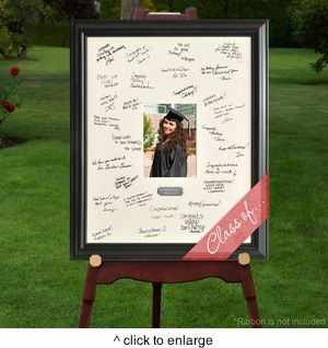 Graduating Celebrations Signature Frame | hotref.com