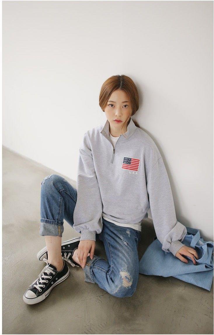 Makemodel SEOLHWA  USA Zip Up