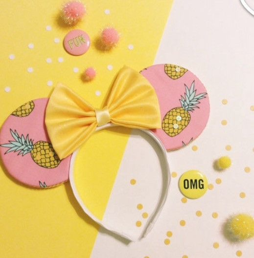 Unique ears designed for our unique mousketeers! Headbands with Mickey ears and bows, perfect for your next Disneyland trip! By House of Mouse