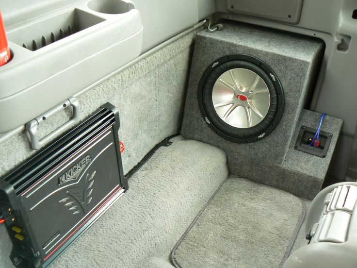 Sub Box In Place Of Fold Out Jump Seat Ford Ranger Forum